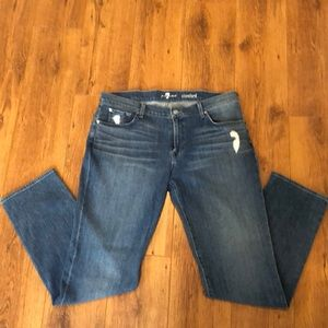 Men's 7famk standard distressed jeans NEW